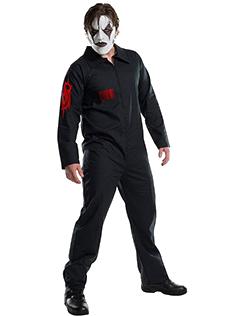 ジャンプスーツ 黒 ハロウィン 仮装