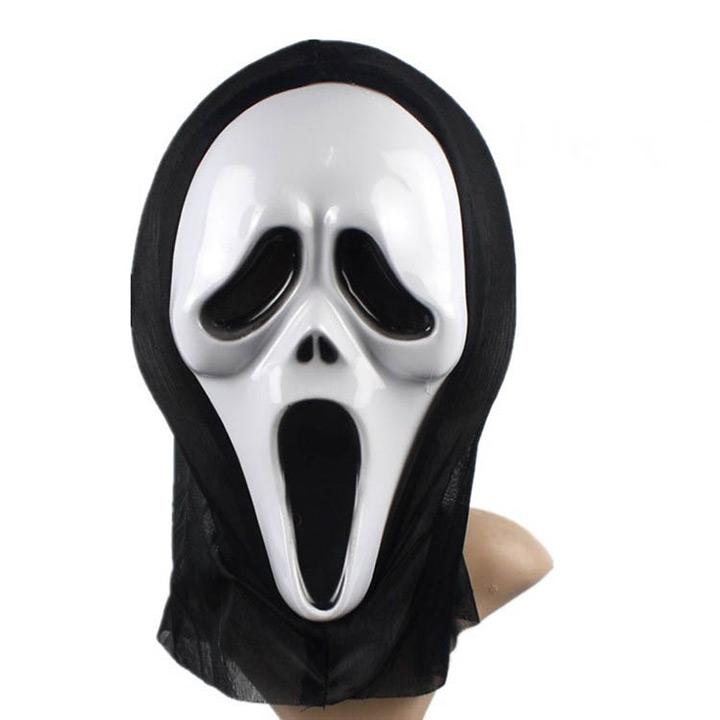 ハロウィン  死神 マスク