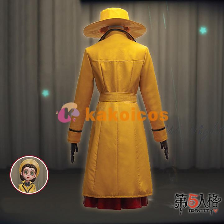 第五人格 演繹の星 雨中の曲 コスプレ衣装