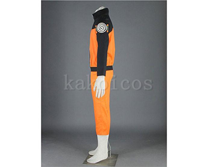 NARUTO 疾風伝 うずまきナルトコスプレ衣装