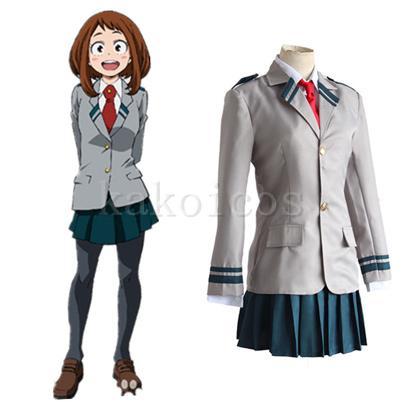 僕のヒーローアカデミア 雄英高校 女子制服 コスプレ衣装